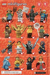 Collectible Minifigures Series 15 (AB Quest) Tags: lego collectible minifigures