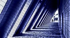 Blueprint (krillmerma) Tags: hong kong art centre angles blue print cityscape building