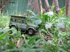 Let's joy the adventure with defender!! (Ryan Ramanda) Tags: diecast landrover defender matchbox