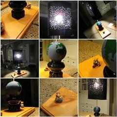 "DIY: ""Starry Night Lamp"" (Ken Whytock) Tags: diy woodworking crafts folkart lamp liht starrynight globe homemade"