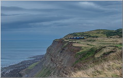 In Swinger (Terry 47401) Tags: class66 66531 6f32 boulby tees saltburn landscape cliffs sea train railway