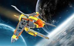 VVasp Viper (TFDesigns!) Tags: lego space spaceship venusian viper nnovvember fly fighter alien