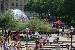 Canada Day Crowd at the Leg (Vegan Butterfly) Tags: canada day people crowd summer crowded alberta legislature grounds edmonton city urban candid outside outdoor