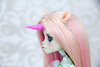 Commission of Unicorn Set for Monster High (AnnaZu) Tags: vesnushkahandmade etsy annazu annaku coommissikn monsterhigh mh bjd abjd doll unocorn magnetic fantasy parts head ears horns tail