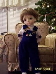 Edmund at Christmas (whisperwolf16915) Tags: customhouse petiteai bjd doll uriel petiteaiuriel