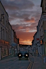 Monmouth High Street (elhawk) Tags: sunset monmouth