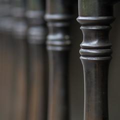softening (Cosimo Matteini) Tags: cosimomatteini ep5 olympus pen m43 mft mzuiko45mmf18 london city cityoflondon fence softening