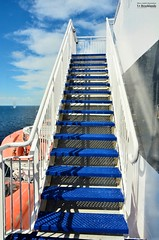 Stairs to the sky (le Brooklands) Tags: blueputtees channelportauxbasques d7000 ferry newfounlandlabrador sigma1224mm