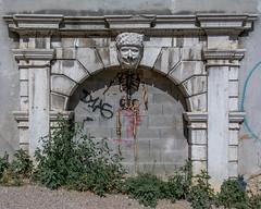 skeleton grafitti (born ghost) Tags: architecture graffiti historic istria italy street streetart trieste