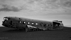 DC3 wreckage  Iceland L (Jimmy Dolan) Tags: dc3 us nvay wreckage iceland blackbeach plane crash alone wilderness landing military usa skogafoss