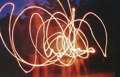 (jonesrachel920) Tags: july 4th 35mm negative scan film phelps ny long exposure sparkler