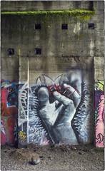 Reaching Up! (NoJuan) Tags: 6d eos6d nikkorlens nikkor manualfocuslensondslr eoswithmanualfocuslens graffiti wallart