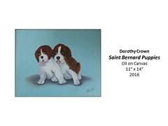 "Saint Bernard Puppies • <a style=""font-size:0.8em;"" href=""https://www.flickr.com/photos/124378531@N04/31178558625/"" target=""_blank"">View on Flickr</a>"