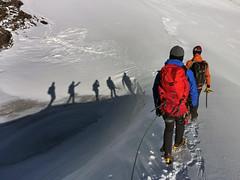Oetztal alpine (WoutervanKootwijk) Tags: alps alpen alpes alpinisme alpinism alpine hiking mountains mountain snow glacier mountaineering nkbv nkbvj2 austria oetztaler oetztal wildspitze summit