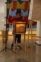 Tamboreras da Colômbia - Oficina Cultural Alfredo Volpi (avangicultural) Tags: orito jenn del tambó alfredo volpi poiesis tambor aola aula criança maracas tambora alegre