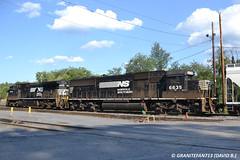 NS 6635 EMD SD60 (459) (Trucks, Buses, & Trains by granitefan713) Tags: train diesel ns locomotive freighttrain norfolksouthern emd mixedfreight emdsd60 sunburysub cpsunburysub