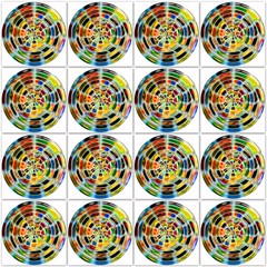 4x4 revolutions (pbo31) Tags: color art collage circle colorful pattern 4x4 august 16 shape lollypop squared 2015 boury pbo31 iphone6plus