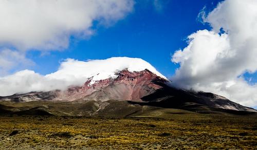 Chimborazo (6 310 m) - Volcan d'Équateur
