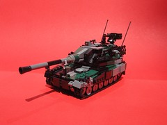 Type 11 Self Propelled Howitzer (Matt Hacker) Tags: self gun lego military vehicle propelled tracked moc howitzer
