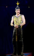 Erik Altemus as Lewis in the national tour of Pippin presented by Broadway Sacramento at the Sacramento Community Center Theater Dec. 29, 2015 – Jan. 3, 2016. Photo by Joan Marcus.