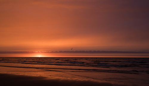 Sunset in Terschelling