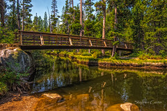 Wooden Bridge (stephencurtin) Tags: california bridge lake color photography wooden wrights thechallengefactory