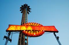 Mega Drop, Walworth County Fair (Cragin Spring) Tags: summer sky usa tower wisconsin lights ride unitedstates dusk unitedstatesofamerica fair countyfair wi elkhorn 2015 walworthcountyfair elkhornwi walworthcounty megadrop elkhornwisconsin