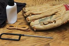 Glove Repairs (nicholas.istre) Tags: sport baseball nikond70 repair glove