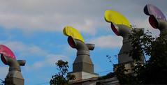 Wind Cowls, BedZED, Hackbridge, London Borough of Sutton (tonymonblat) Tags: london surrey sutton ecovillage turnerprize bedzed hackbridge londonboroughofsutton