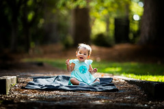 Playing in the Park (Robbybeggs) Tags: park light baby sunlight playing green girl beautiful field asian fun outside outdoors toddler pretty shoot dof child natural bokeh outdoor awesome rob filipino filipina thin depth beggs 6d 135l