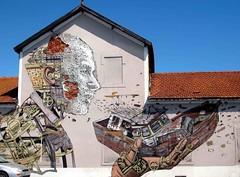 Lisbon Mural 414 (saxonfenken) Tags: med2015e30 pregamesweep thechallengefactory wall mural mosaic lisbon portugal againstabluesky 414med 414 challengeyouwinner cy2 cyunanimous challengeyou gamewinner challengewinner pregameduelsweep thumbsup friendlychallenges perpetual 15challengeswinner
