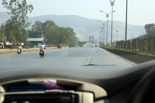 Route de Mumbai vers Pune