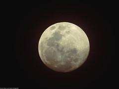 Silver Moon (Marco San Martin) Tags: moon night silver landscape noche luna midnight lonely shining solitario brillo medianoche