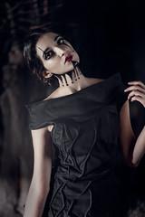 Happy Halloween 2015 01 (Nacho Espino) Tags: portrait halloween girl make up fashion artist modelo surprise brenda fotografia puebla nacho duarte espino