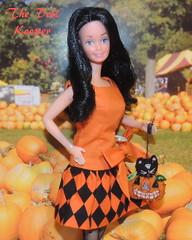 Snowprincess Barbie- OOAK Best Bow Halloween Dress (The doll keeper) Tags: snowprincess