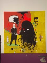 how i met 108 3 (mc1984) Tags: black yellow painting nero 108 darkmatter mc1984