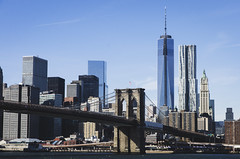 (TheTimeTraveler!) Tags: travel viaje bridge sky newyork buildings photography big photos manhattan steel modernism best fotos views nuevayork