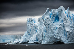 Fragmented Glacier, Neumayer Strait, Antarctica 2006