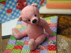 misch02 (Zhanna Zolotina) Tags: bear miniature teddy handmade ooak fell altair stoffe toyzz