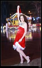 nEO_IMG_DP1U6746 (c0466art) Tags: christmas city light portrait reflection girl rain night canon garden photo big amazing colorful pretty view julia outdoor gorgeous event lamps charming russian celebrate decroration 1dx banchao c0466art