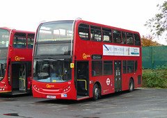 GAL E50 - LX56ETV - NSF - BX BEXLEYHEATH BUS GARAGE - WED 4TH NOV 2015 (Bexleybus) Tags: bus london ahead garage go 400 dennis enviro bexleyheath adl bx goahead e50 lx56etv