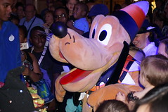 """Pluto at Mickey's Mouse-querade Party • <a style=""""font-size:0.8em;"""" href=""""http://www.flickr.com/photos/28558260@N04/23032844276/"""" target=""""_blank"""">View on Flickr</a>"""