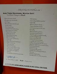 Poem by Brash (kimsworldofart) Tags: poem maryland poet artomatic hyattsville brash newcarrollton
