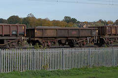 395153 Kingsthorpe 251015 (Dan86401) Tags: 395153 395 mta open ballast wagon freight conversion coalfish fishkind ews dbs db schenker engineers departmental infrastructure wilsonscrossing kingsthorpe northampton wcml 6r06