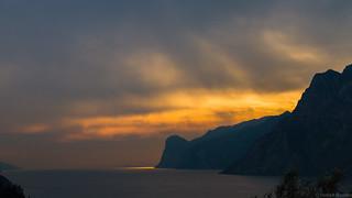 Afterglow at Lago di Garda