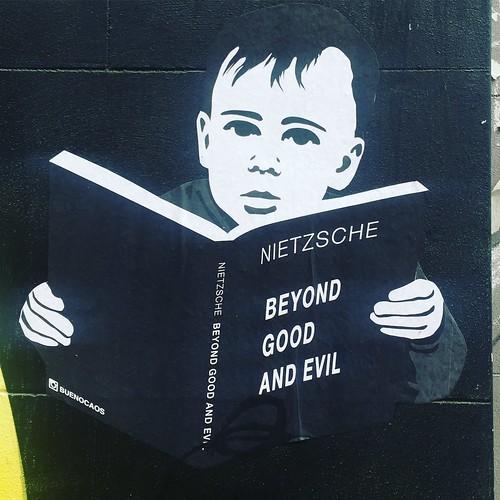 Nietzsche Street Art