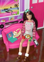 Ready for Santa (flores272) Tags: vacation toys doll dolls barbie skipper glam skipperdoll lps barbiehouse littlestpetshop barbiefurniture vintagelps wiiu barbieglamvacationhome 2010barbieglamvacationhome