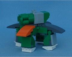 Quadrilion (Mantis.King) Tags: lego walker scifi futuristic mecha mech moc multiped microscale tripletchallenge mechaton mfz mf0 mobileframezero orphanbuild