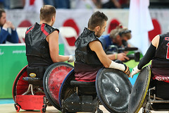 Matthew Murnaghan:Canadian Paralympic Committee-sept201691862 (Wilson School of Design at KPU) Tags: wheelchair rugby men paralympic games riodejanerio brazil