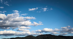 Clouds (oliko2) Tags: clouds landscape sky freiburg city blackforest schwarzwald blue germany nikond7100 outdoor autumn fall rosskopf mountain hill trees